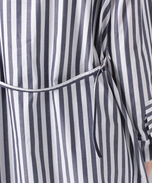 LAPINE BLEUE(ラピーヌ ブルー)/【洗える】サイロストライプシャツ/230845_img05