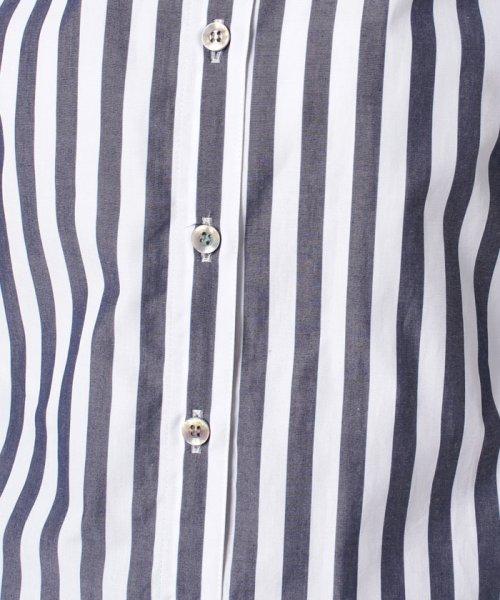 LAPINE BLEUE(ラピーヌ ブルー)/【洗える】サイロストライプシャツ/230845_img06