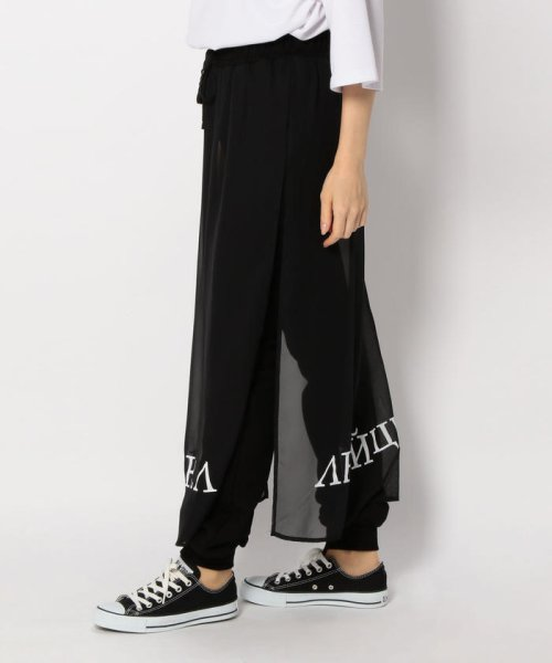 LHP(エルエイチピー)/Chica/チカ/Layered Print Pants/6016163337-60_img01