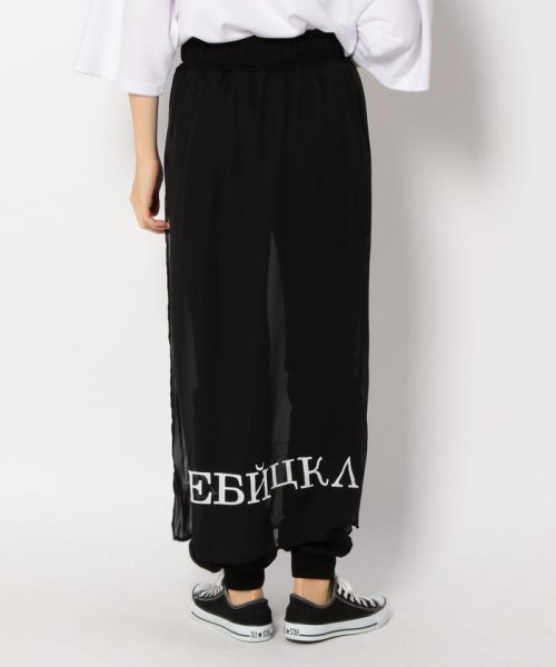 LHP(エルエイチピー)/Chica/チカ/Layered Print Pants/6016163337-60_img02