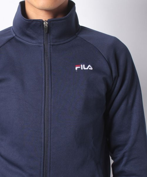 FILA(フィラ)/【セットアップ対応商品】ジャージ 裏起毛スタンドジャケット/448360_img03