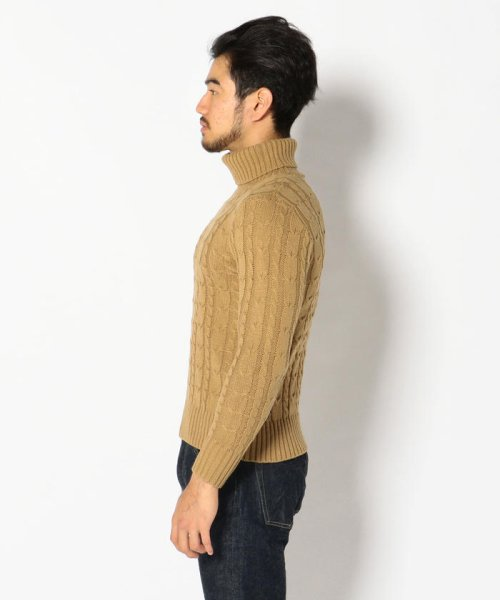 LHP(エルエイチピー)/LHP/エルエイチピー/Cable Turtleneck Knit/6001163622-60_img01
