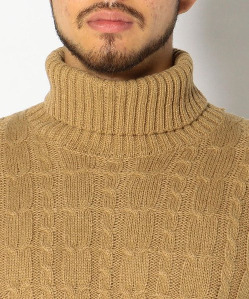 LHP(エルエイチピー)/LHP/エルエイチピー/Cable Turtleneck Knit/6001163622-60_img03