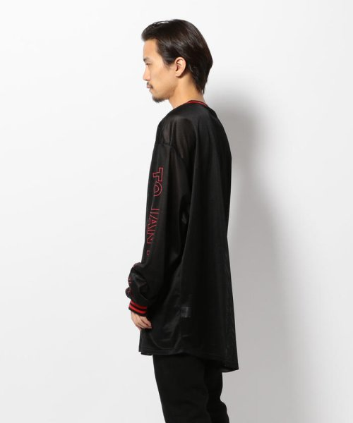 LHP(エルエイチピー)/DankeSchon/ダンケシェーン/Mesh L/S T-Shirts/6016173112-60_img01