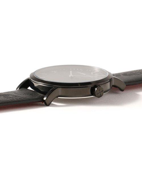 LHP(エルエイチピー)/NUMBER (N)INE×ANGELCLOVER×LHP/【100本限定】音符レザー腕時計(NNR40BBK-LHP)/970183601-60_img02