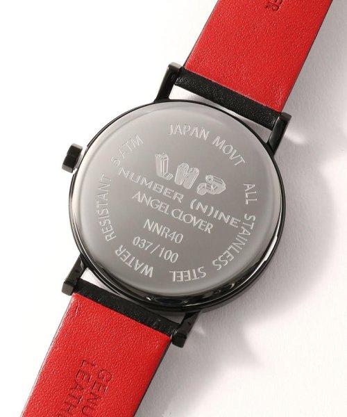 LHP(エルエイチピー)/NUMBER (N)INE×ANGELCLOVER×LHP/【100本限定】音符レザー腕時計(NNR40BBK-LHP)/970183601-60_img03