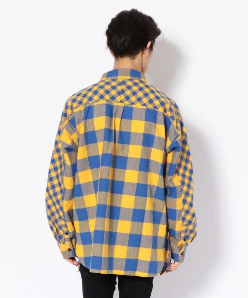 LHP(エルエイチピー)/DankeSchon/ダンケシェーン/マサラチェックシャツ/6016183055-60_img02