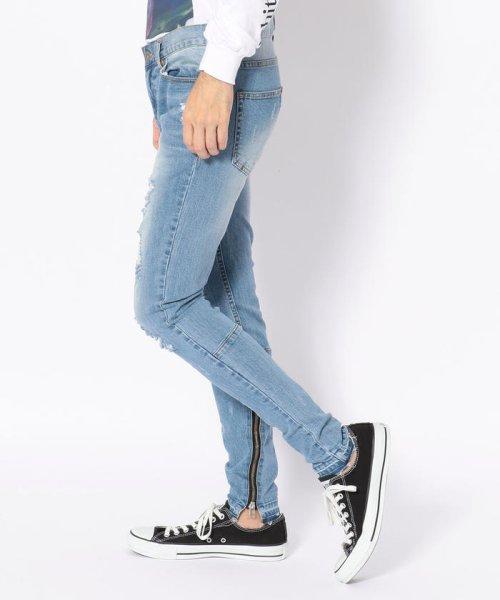 LHP(エルエイチピー)/DankeSchon/ダンケシェーン/Side Zip Skinny Pants/6016189130-60_img01