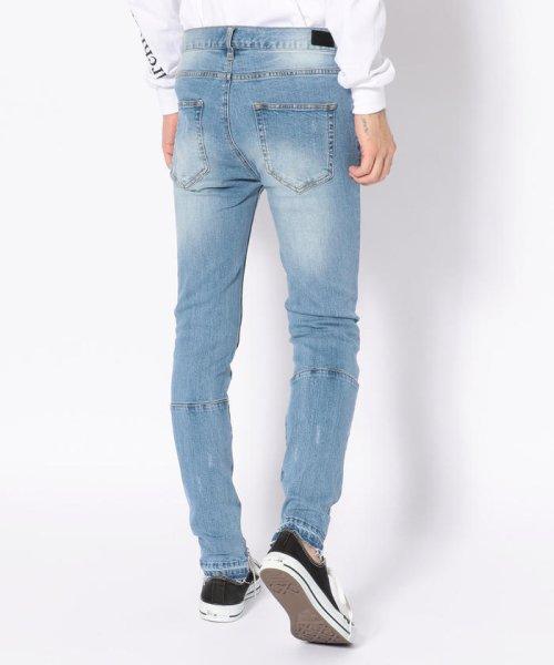 LHP(エルエイチピー)/DankeSchon/ダンケシェーン/Side Zip Skinny Pants/6016189130-60_img02