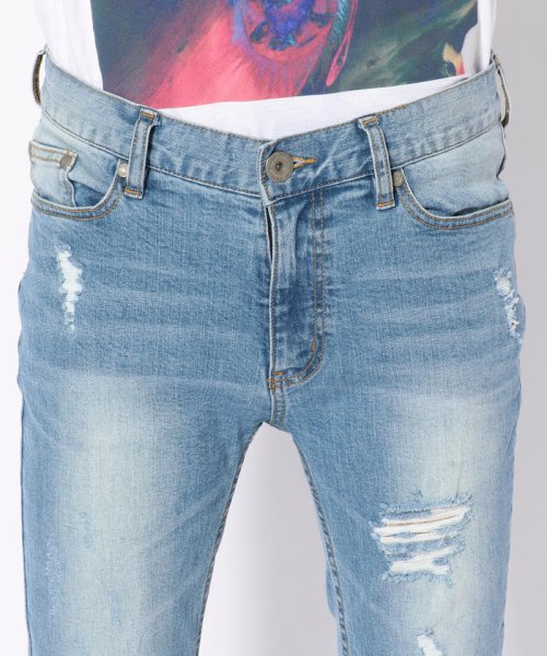 LHP(エルエイチピー)/DankeSchon/ダンケシェーン/Side Zip Skinny Pants/6016189130-60_img03