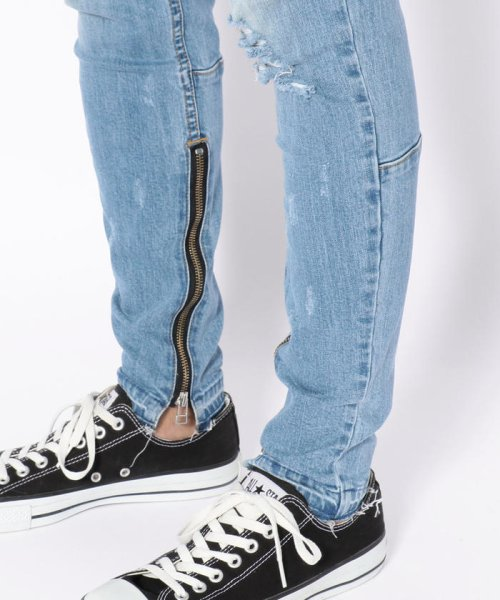 LHP(エルエイチピー)/DankeSchon/ダンケシェーン/Side Zip Skinny Pants/6016189130-60_img09