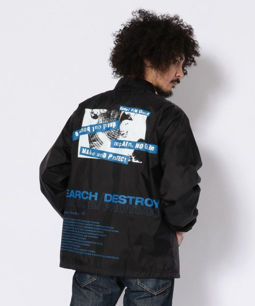 LHP(エルエイチピー)/Kanez/ケインズ/SEARCH DESTROY COACH JACKET/4099183005-60_img03