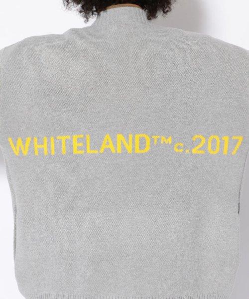 LHP(エルエイチピー)/WHITELAND/ホワイトランド/DoubleJacquardカーディガン/6016183336-60_img06