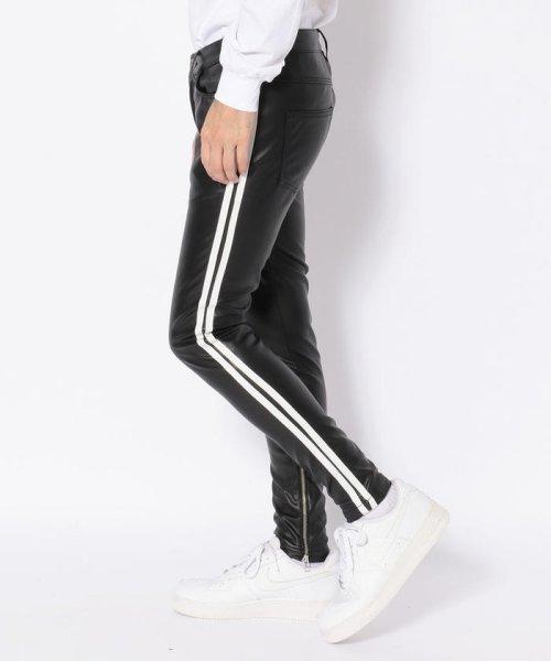 LHP(エルエイチピー)/DankeSchon/ダンケシェーン/Neo Leather LINE Pants/6016189014-60_img01