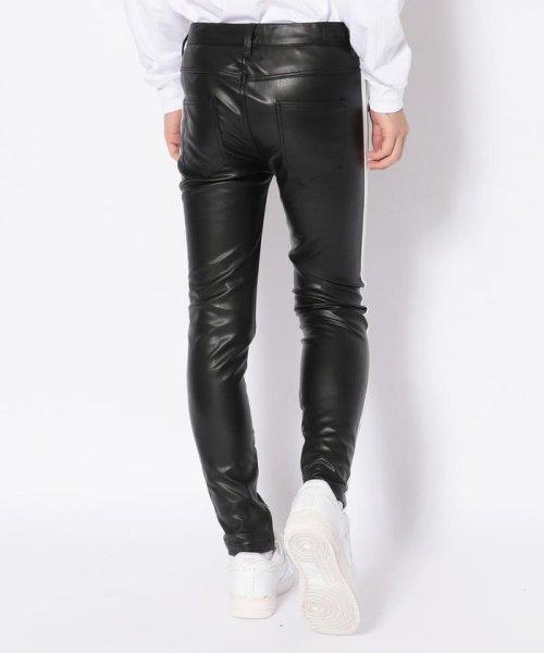 LHP(エルエイチピー)/DankeSchon/ダンケシェーン/Neo Leather LINE Pants/6016189014-60_img02