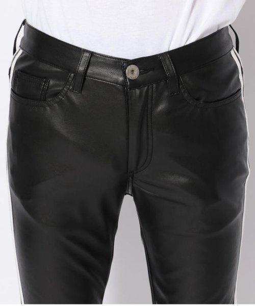 LHP(エルエイチピー)/DankeSchon/ダンケシェーン/Neo Leather LINE Pants/6016189014-60_img03
