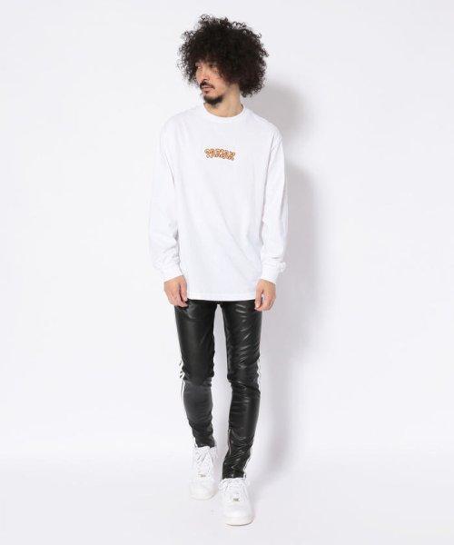 LHP(エルエイチピー)/DankeSchon/ダンケシェーン/Neo Leather LINE Pants/6016189014-60_img09