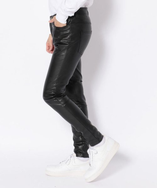 LHP(エルエイチピー)/DankeSchon/ダンケシェーン/NeoLeather Skinny Pants/6016189049-60_img01