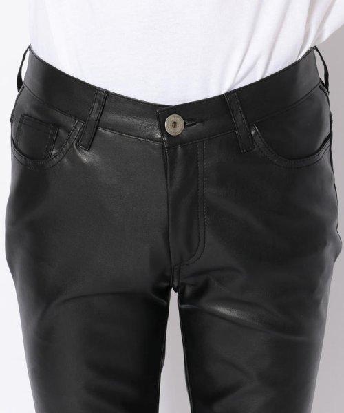 LHP(エルエイチピー)/DankeSchon/ダンケシェーン/NeoLeather Skinny Pants/6016189049-60_img03