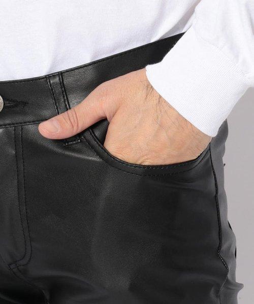 LHP(エルエイチピー)/DankeSchon/ダンケシェーン/NeoLeather Skinny Pants/6016189049-60_img04
