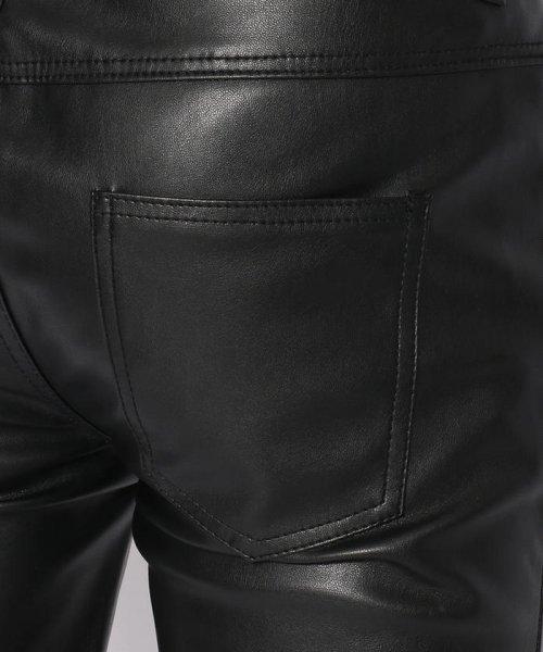 LHP(エルエイチピー)/DankeSchon/ダンケシェーン/NeoLeather Skinny Pants/6016189049-60_img07