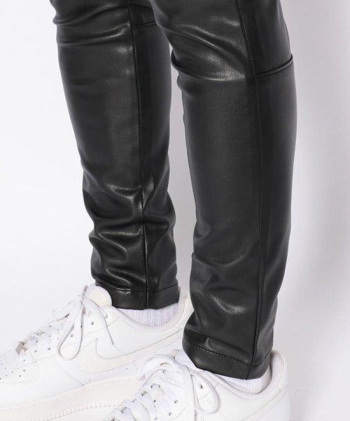 LHP(エルエイチピー)/DankeSchon/ダンケシェーン/NeoLeather Skinny Pants/6016189049-60_img08