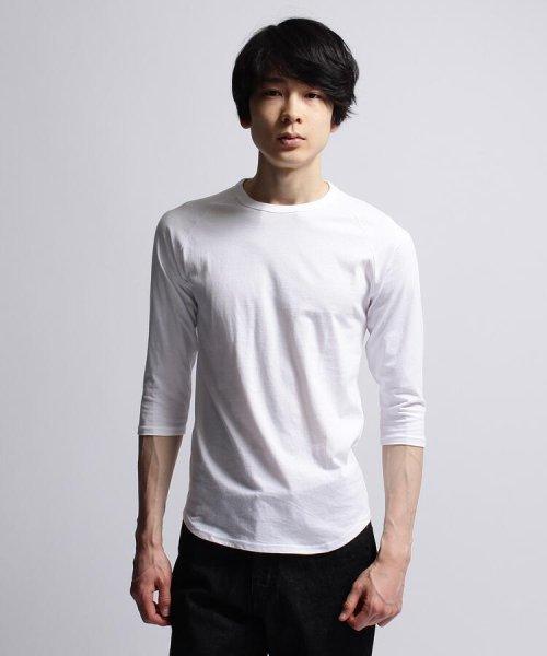 BASECONTROL(ベースコントロール)/inner light raglan 3/4 t shirt/99990922311044_img02