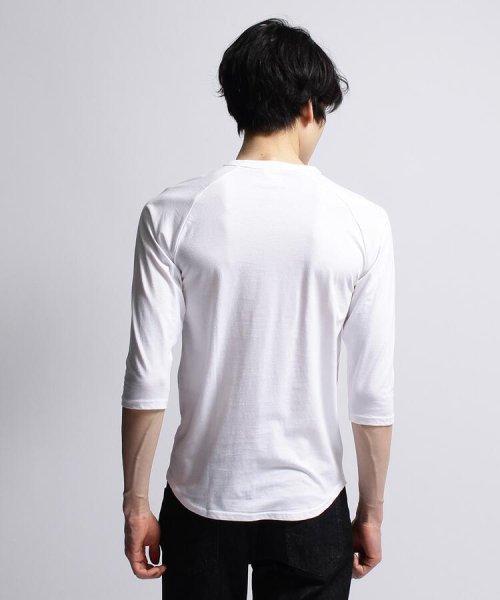 BASECONTROL(ベースコントロール)/inner light raglan 3/4 t shirt/99990922311044_img04