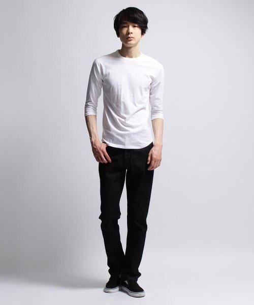 BASECONTROL(ベースコントロール)/inner light raglan 3/4 t shirt/99990922311044_img08