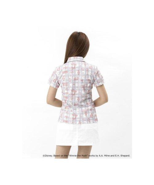 Samantha Thavasa UNDER25&NO.7(サマンサタバサアンダー)/くまのプーさん 総柄デザインポロシャツ/00761821100105_img01