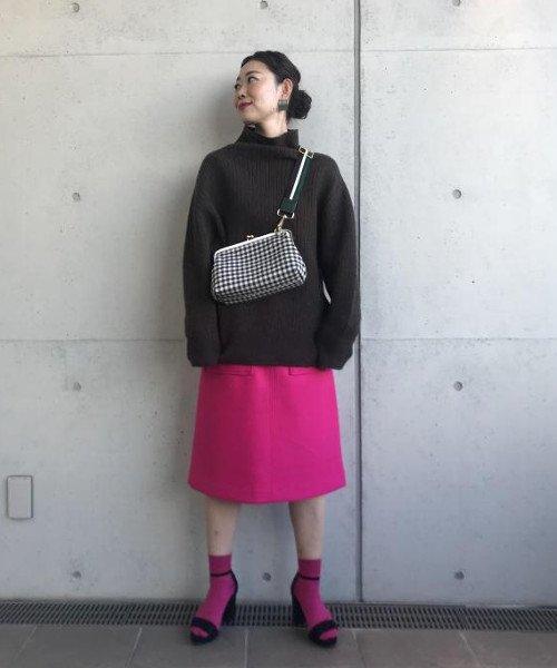 ADAM ET ROPE'(アダム エ ロペ)/ポケット付き台形スカート/GAC28300_img01