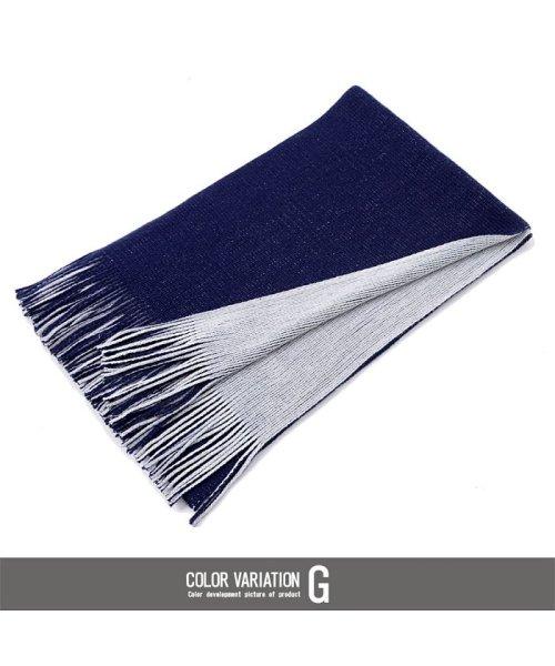 CavariA(キャバリア)/CavariA【キャバリア】国産リバーシブルフリンジマフラー/CAGS18-09_img12