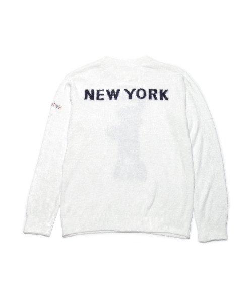 GELATO PIQUE HOMME(GELATO PIQUE HOMME)/【GELATO PIQUE HOMME】'スムージィー'New York ジャガードプルオーバー/PMNT185983_img02