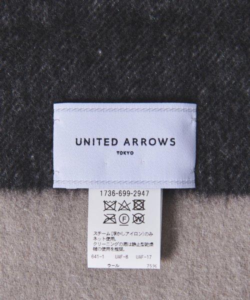 UNITED ARROWS(ユナイテッドアローズ)/UWSC W/CA チェック ストール/17366992947_img04