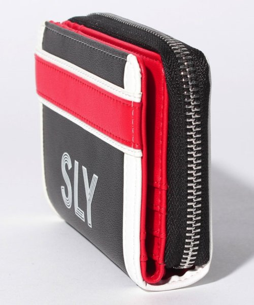 SLY(BAG)(スライ(バッグ))/【SLY】【SLY】SPORTS MIX MINI WALLET/S09200004_img01