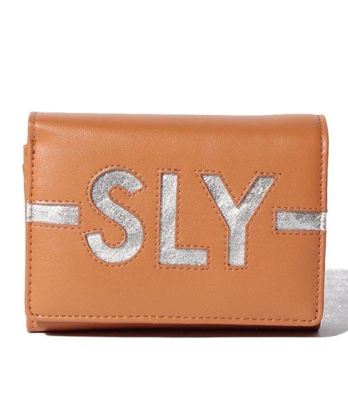 SLY(BAG)(スライ(バッグ))/【SLY】【SLY】LOGO WALLET FLAP WALLET/S09200013_img07