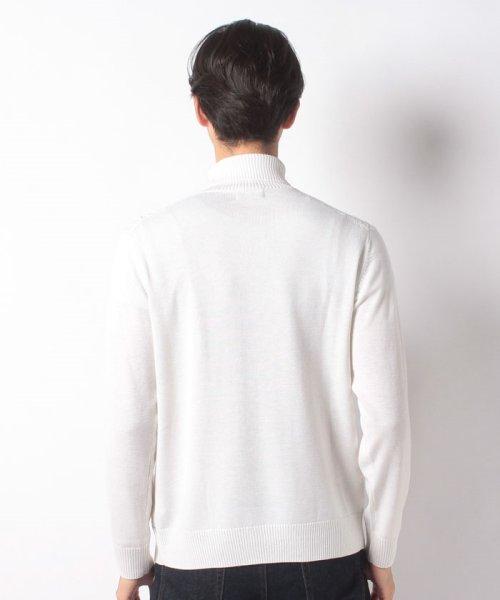Men's Bigi(メンズビギ)/へリンボーンタートルネックセーター/M0184KSW08_img02