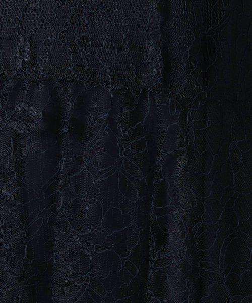 form forma(フォルムフォルマ)/【結婚式・二次会・パーティー・お呼ばれ対応】チュールコードレースフレアワンピース/0401514_img20