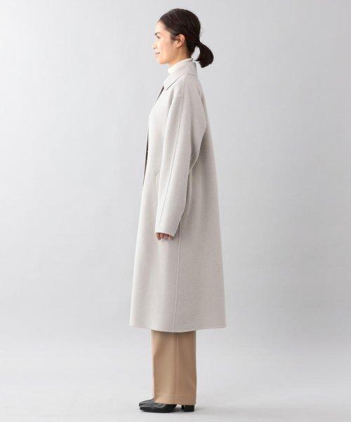 SANYO COAT(サンヨーコート)/<DoubleFaced Coat>ウールリバーシングルバルマカーンコート/T1B56833--_img01