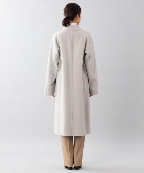 SANYO COAT(サンヨーコート)/<DoubleFaced Coat>ウールリバーシングルバルマカーンコート/T1B56833--_img02