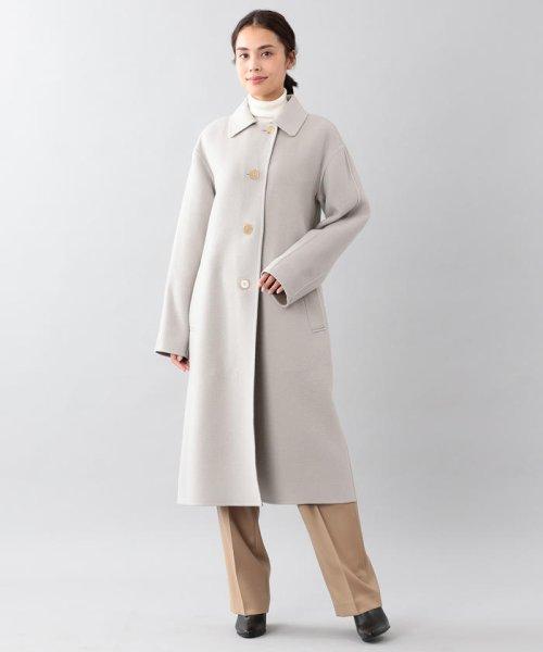 SANYO COAT(サンヨーコート)/<DoubleFaced Coat>ウールリバーシングルバルマカーンコート/T1B56833--_img03