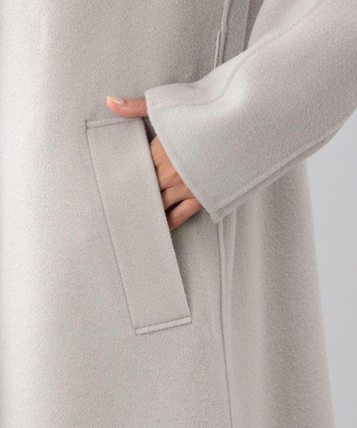 SANYO COAT(サンヨーコート)/<DoubleFaced Coat>ウールリバーシングルバルマカーンコート/T1B56833--_img05