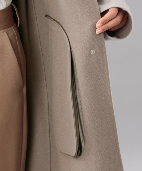 SANYO COAT(サンヨーコート)/<DoubleFaced Coat>ウールリバーシングルバルマカーンコート/T1B56833--_img07