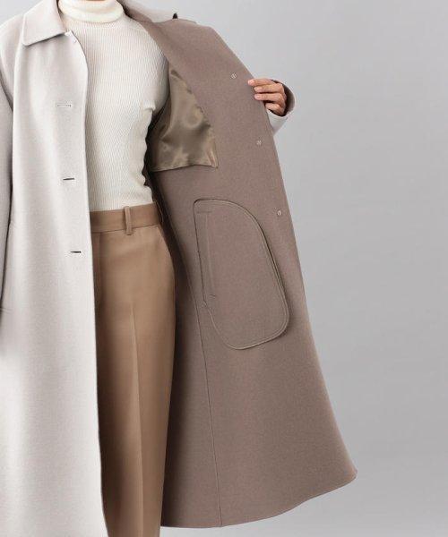 SANYO COAT(サンヨーコート)/<DoubleFaced Coat>ウールリバーシングルバルマカーンコート/T1B56833--_img10