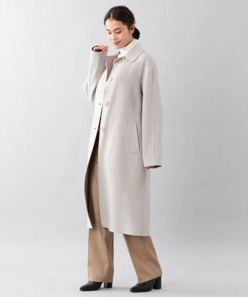 SANYO COAT(サンヨーコート)/<DoubleFaced Coat>ウールリバーシングルバルマカーンコート/T1B56833--_img11
