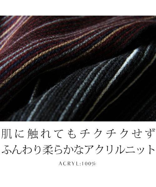 THE CASUAL(ザ カジュアル)/(アスタリスク) ASTARISK 日本製アクリルニットラッセルマフラー/sms11522_img16