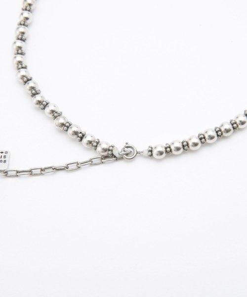 nano・universe(ナノ・ユニバース)/on the sunny side of the street/別注Sml Metal Pearl Beads Choker/6718246008_img02