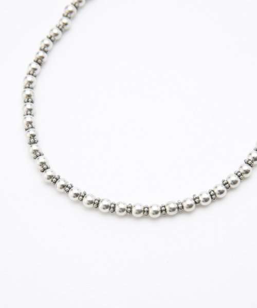 nano・universe(ナノ・ユニバース)/on the sunny side of the street/別注Sml Metal Pearl Beads Choker/6718246008_img03