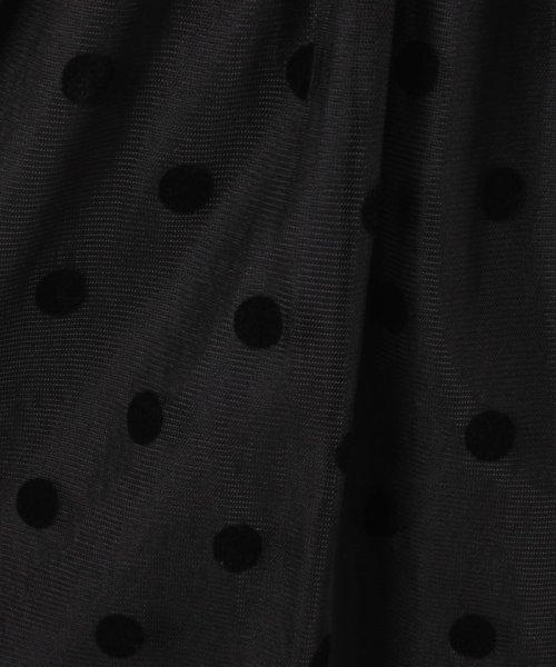 UNIVERVAL MUSE(ユニバーバル ミューズ)/ドットギャザースカート/8574251_img04