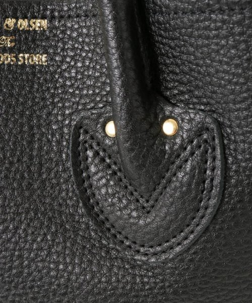 IENA(イエナ)/《追加3予約》YOUNG&OLSEN EMBOSSED レザートートバッグ(M)◆/19092910011810_img14
